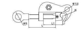 hot line work grounding clamp4